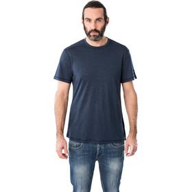 super.natural Essential Camiseta Manga Corta Hombre, azul